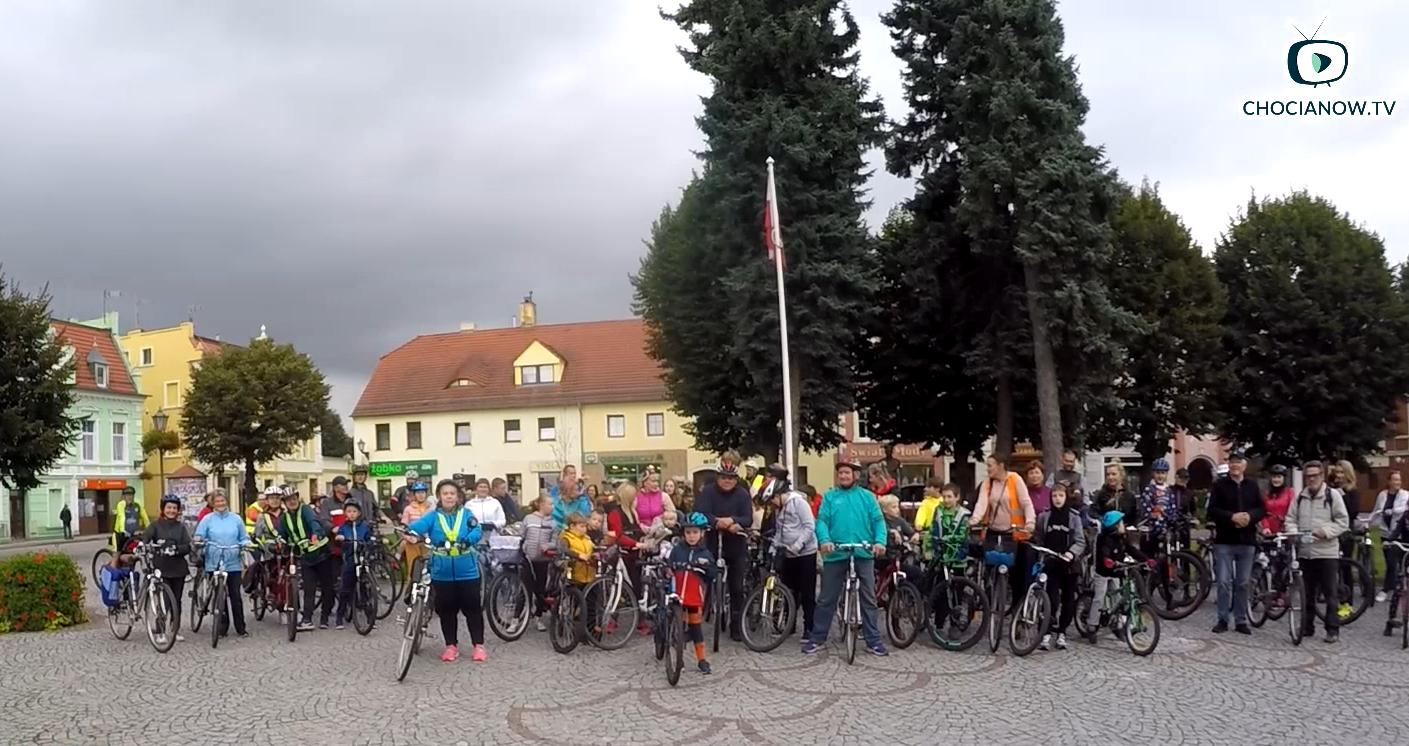 Cykliści zdominowali chocianowskie ulice (galeria zdjęć i wideo)