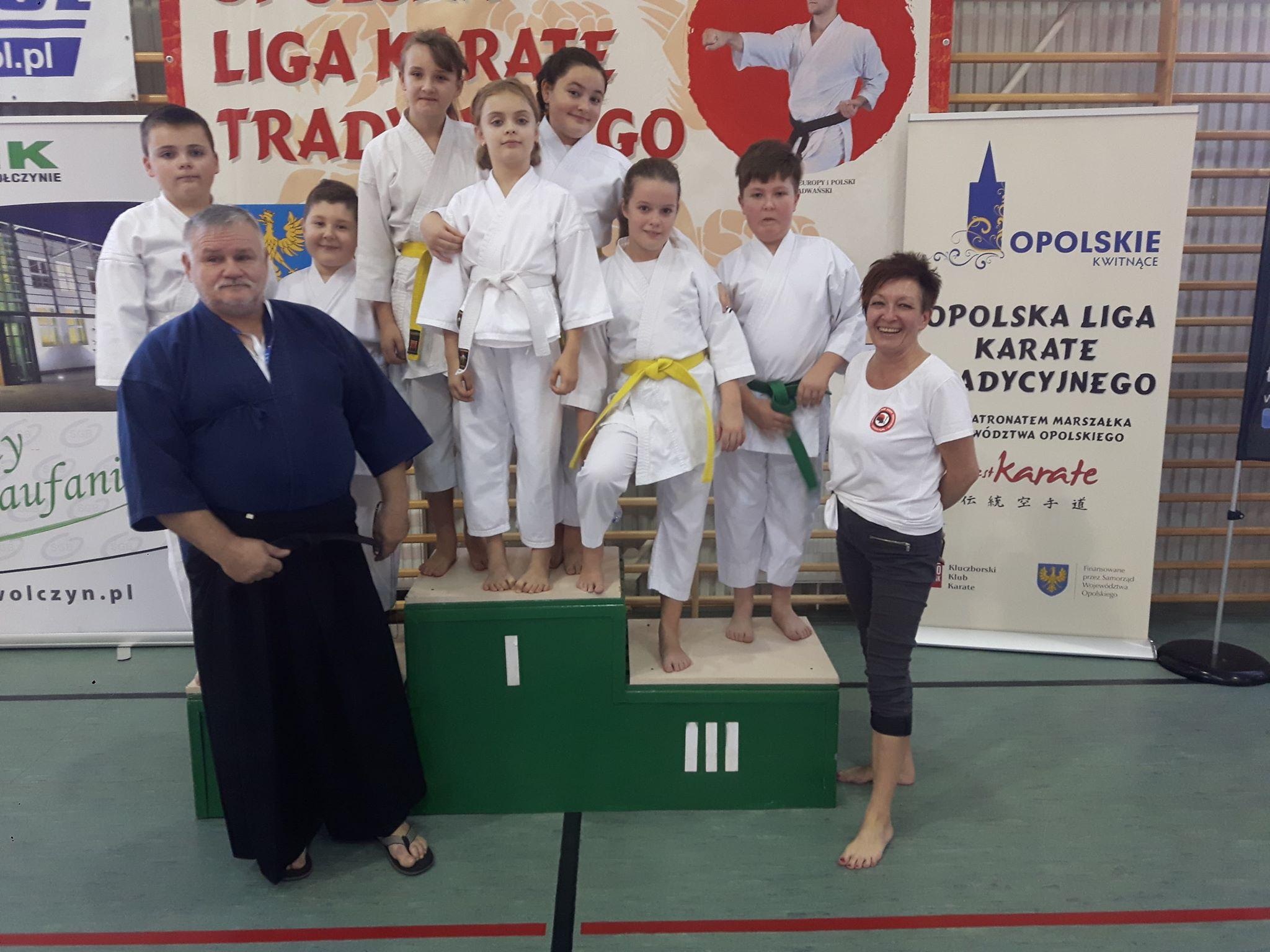 Klub Karate Sento-Kan na Opolskim Turnieju Karate Tradycyjnego w Wołczynie
