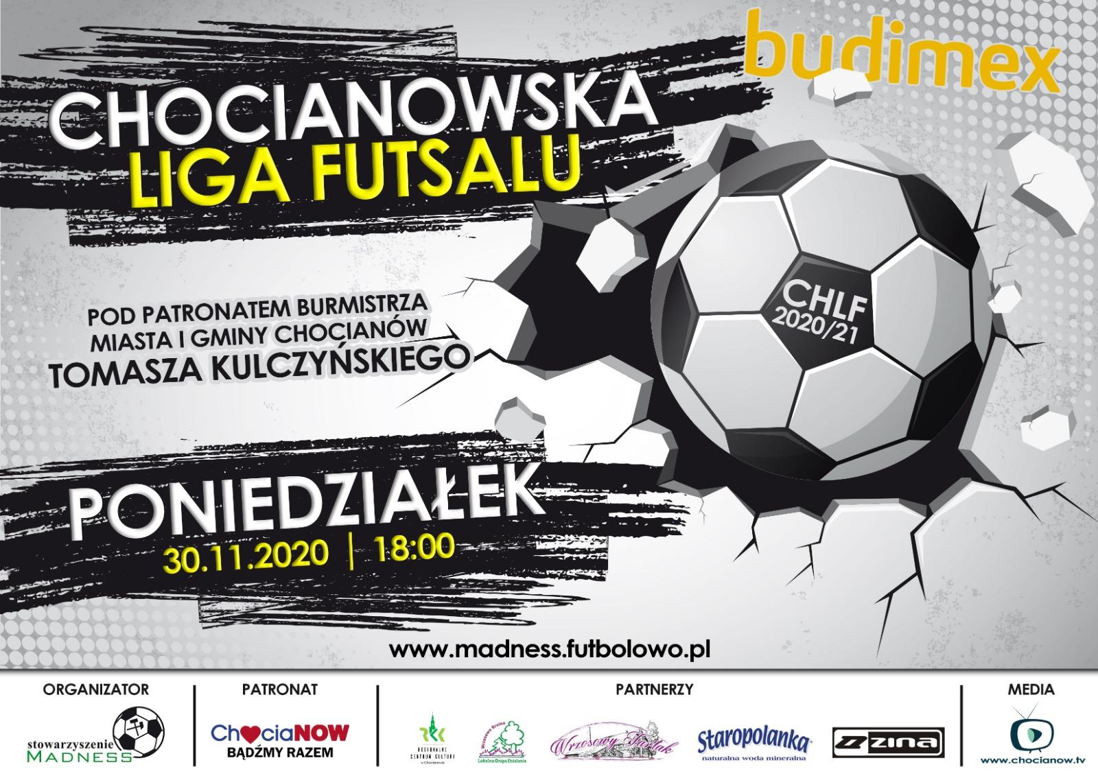 Już dzisiaj rusza Chocianowska Liga Futsalu (wideo)