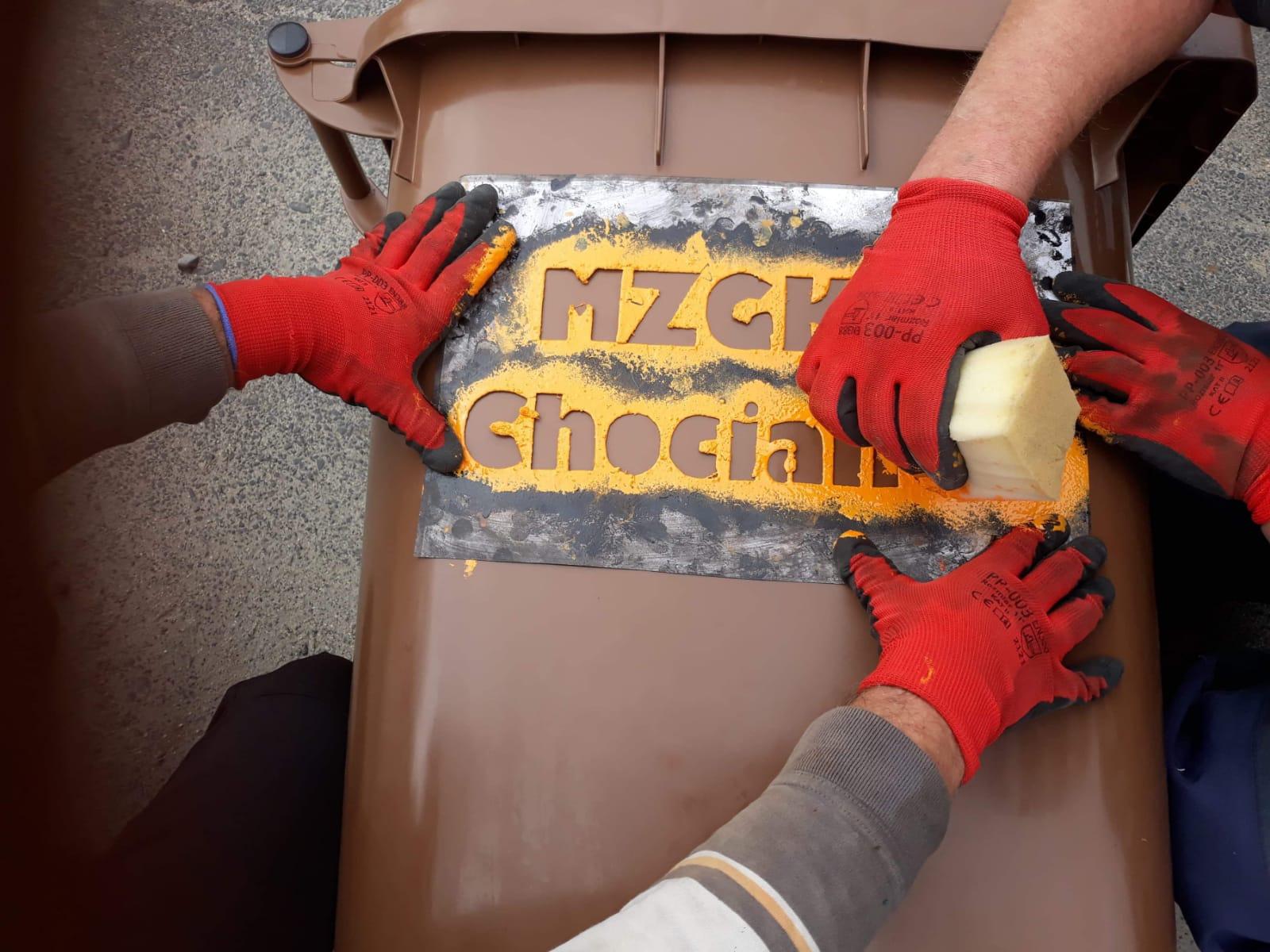 MZGKiM przekazuje nowe śmietniki na odpady ulegające biodegradacji