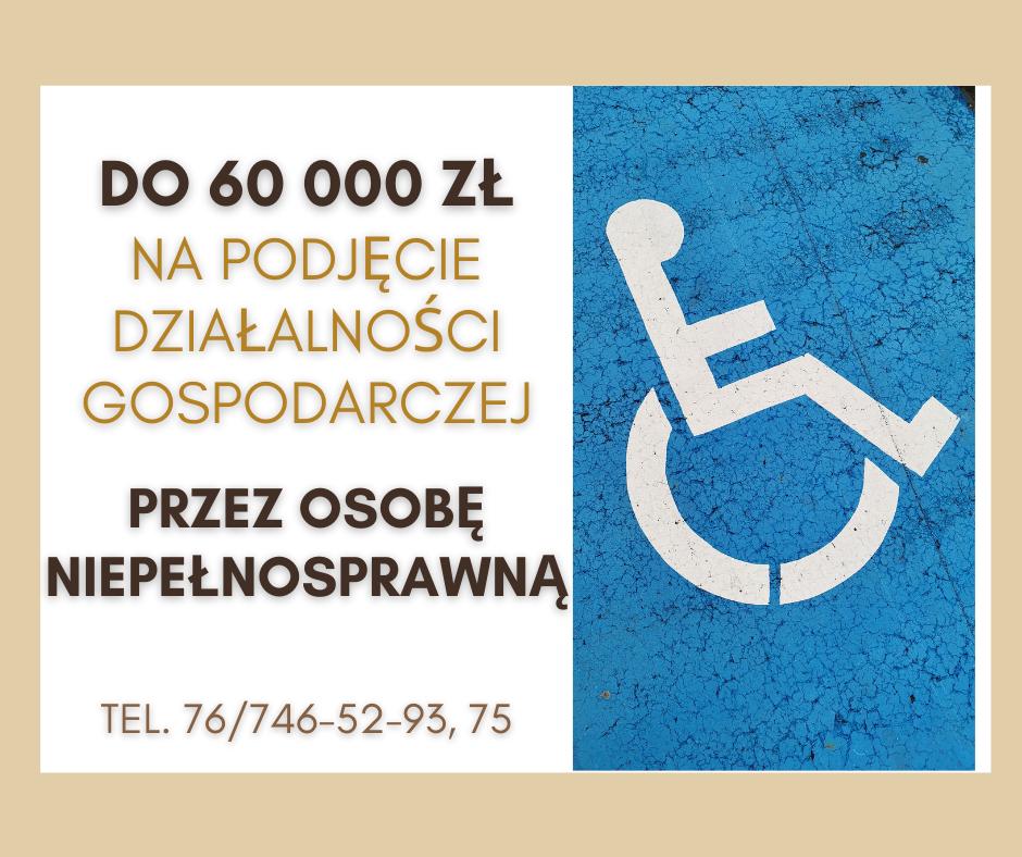 Jesteś niezatrudnionym niepełnosprawnym? Te pieniądze mogą być dla Ciebie