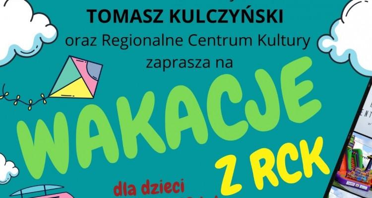 Burmistrz i RCK zapraszają najmłodszych na wyjazdowe wakacje