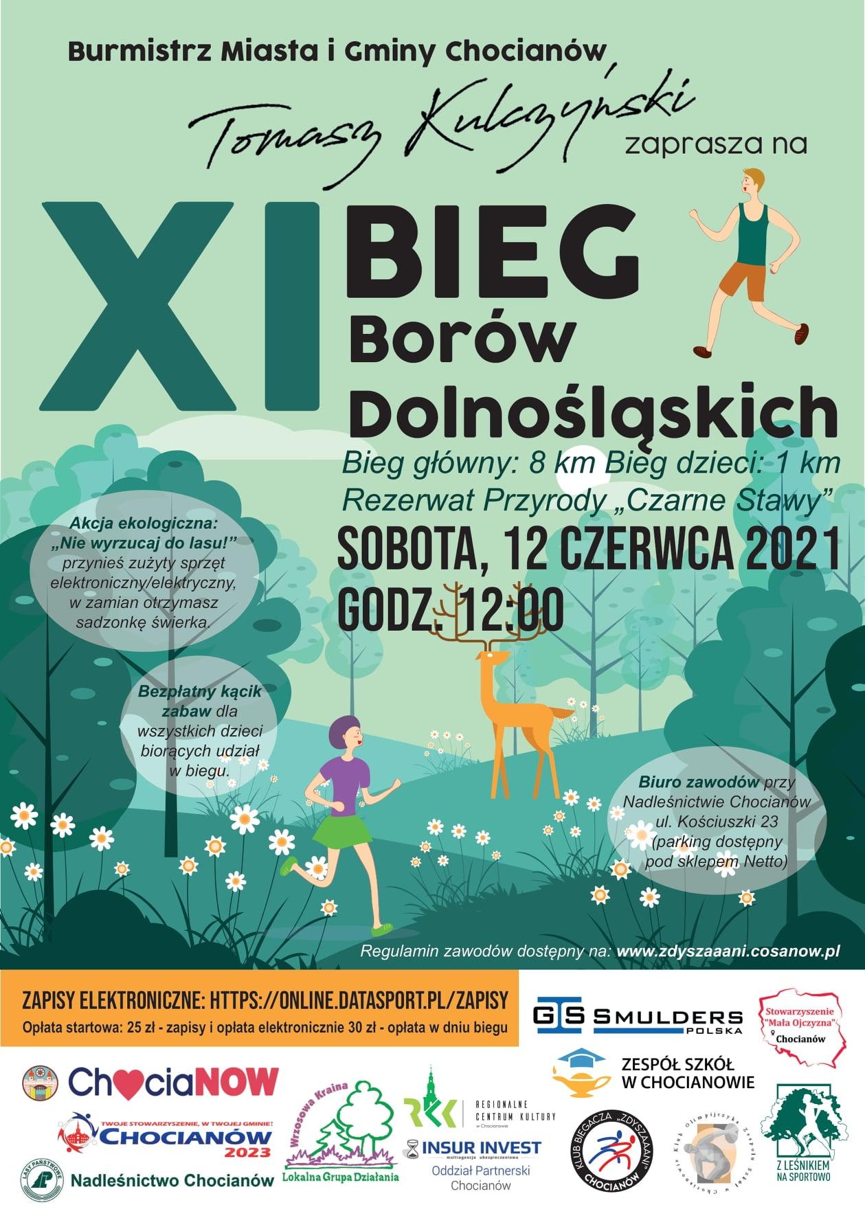 Bieg Borów Dolnośląskich już w sobotę