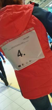 Fatalna weekendowa aura nie pokrzyżowała planów organizacji ,,Marszu Seniora'' z kijami nordic walking