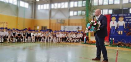 Pasowanie pierwszoklasistów i przedszkolaków