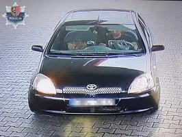 Ukradł paliwo, teraz szuka go policja