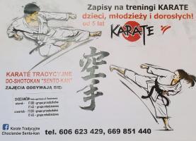 Zapisz się na treningi KARATE