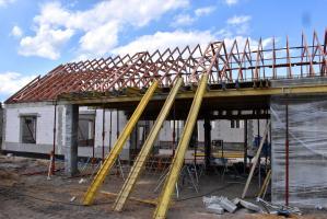 Postęp prac w Trzebnicach (galeria zdjęć)