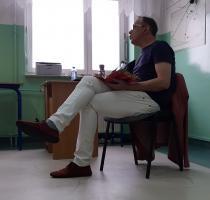 Znany kabareciarz przeprowadził warsztaty poprawnej polszczyzny (zdjęcia i wideo)