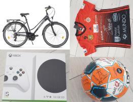 Wylicytuj Xbox, rower i wiele więcej