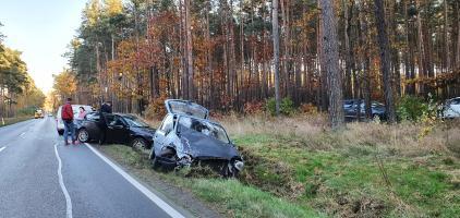 Kolejny wypadek w okolicach Brunowa