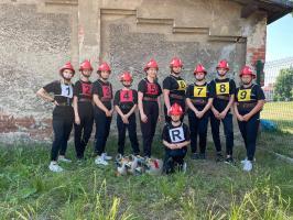 Młode strażaczki z Trzebnic najlepsze na Dolnym Śląsku