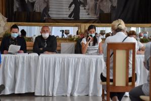 Mieszkańcy Szklar porozmawiali z urzędnikami