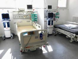 Nowy pododdział intensywnej terapii dla pacjentów z koronawirusem