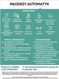 Praca szuka absolwentów Zespołu Szkół w Chocianowie