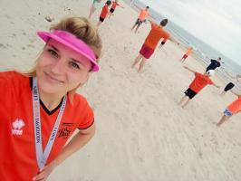 Młodzi rugbiści z Chocianowa trenują na plaży i nie tylko (galeria zdjęć)