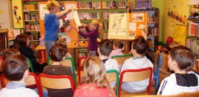 Kocia lekcja biblioteczna