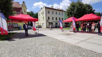Karol Wojtyła i Stefan Wyszyński w centrum Chocianowa (galeria zdjęć)