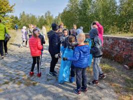 """Akcja """"Sprzątanie świata"""" w Chocianowie"""