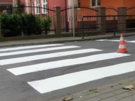 Odnowione przejścia dla pieszych