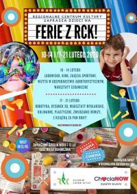 Zajęcia dla dzieci w Regionalnym Centrum Kultury