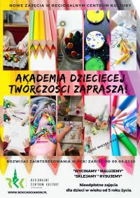 Akademia Dziecięcej Twórczości już we wrześniu