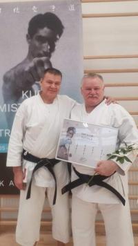Karateka z wyróżnieniem od ogólnopolskiego związku