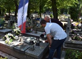 Chocianów pamięta. Dziś rocznica śmierci Włodzimierza Chomickiego