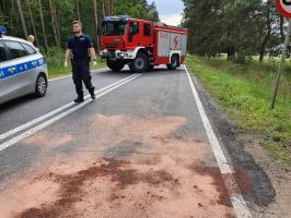 Uwaga: wypadek w Brunowie!
