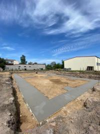 Ławy fundamentowe w Trzebnicach (zdjęcia)