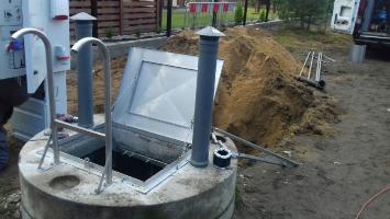 Kanalizacja sanitarna gotowa