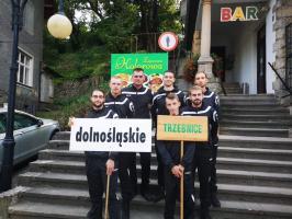 Zawodnicy OSP Trzebnice reprezentują gminę podczas zawodów sportowo-pożarniczych