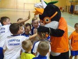 Przedstawiciele ''Miedziowego'' klubu w Chocianowie