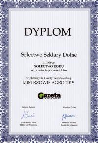KGW w Szklar Dolnych najlepszym  kołem w powiecie