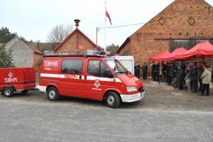 Straż w Michałowie bogatsza o nowy wóz