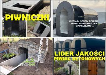 Piwniczka ogrodowa Ziemianka betonowa Piwnica Szcz